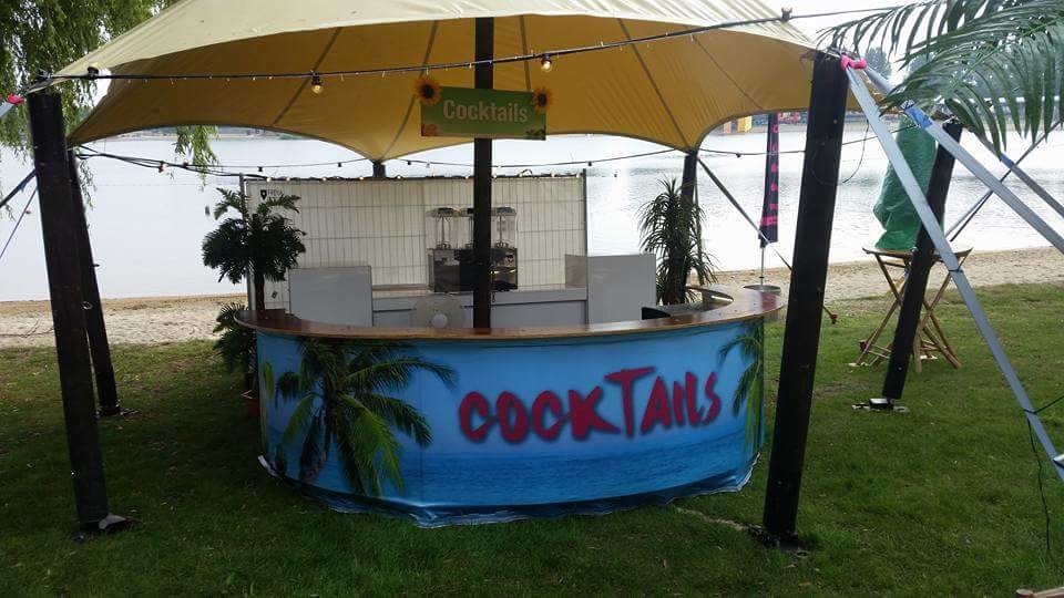 Cocktailbar op Festival